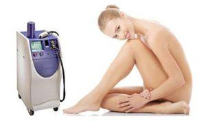Sistema láser depilación gentlelase