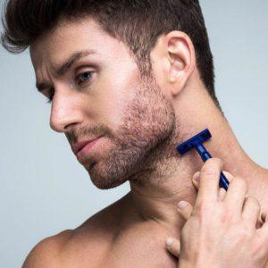 Perfilado y depilado de la barba mediante depilación láser